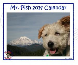 Mr. Pish 2014 calendar cover FRONT