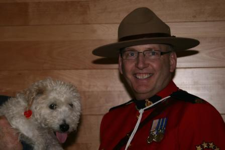 RCMP Officer Dan Toppings
