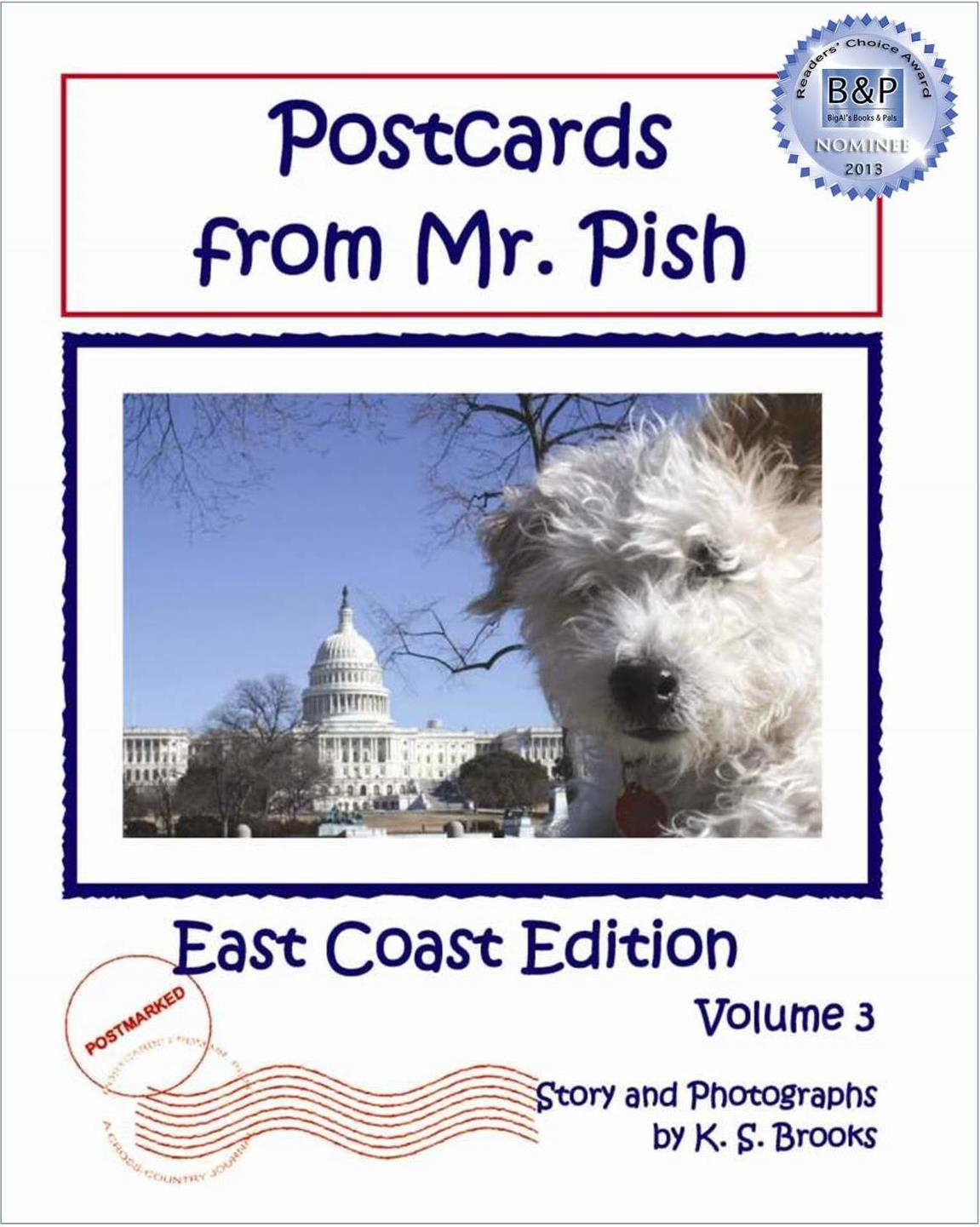 Postcards from Mr. Pish East Coast