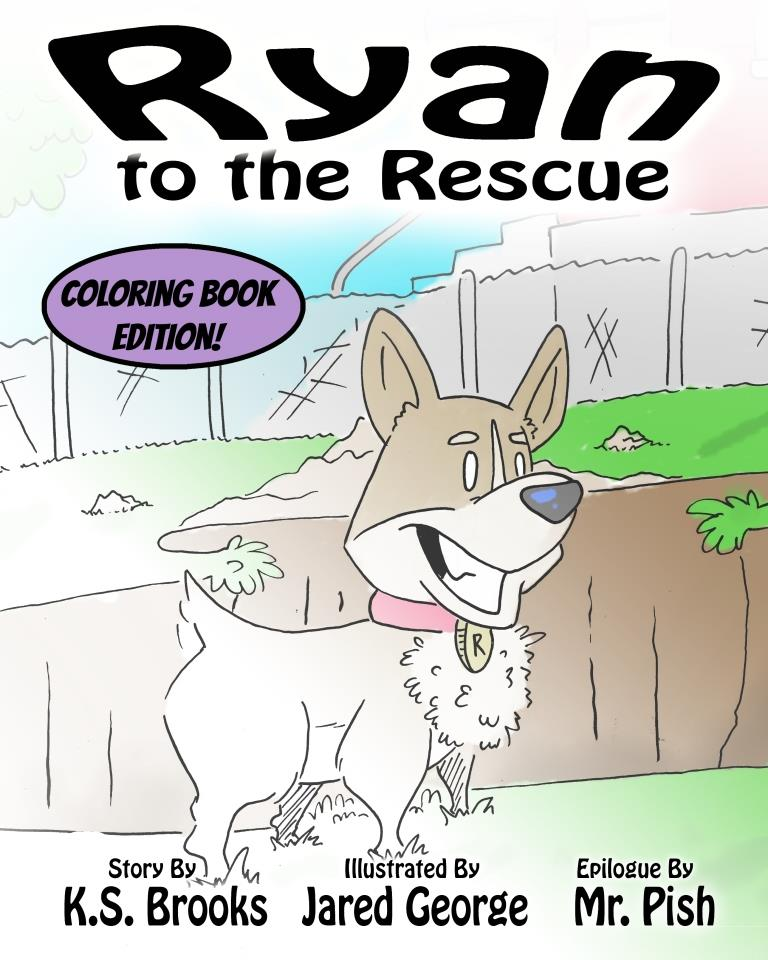 Ryan to the Rescue Coloring Book